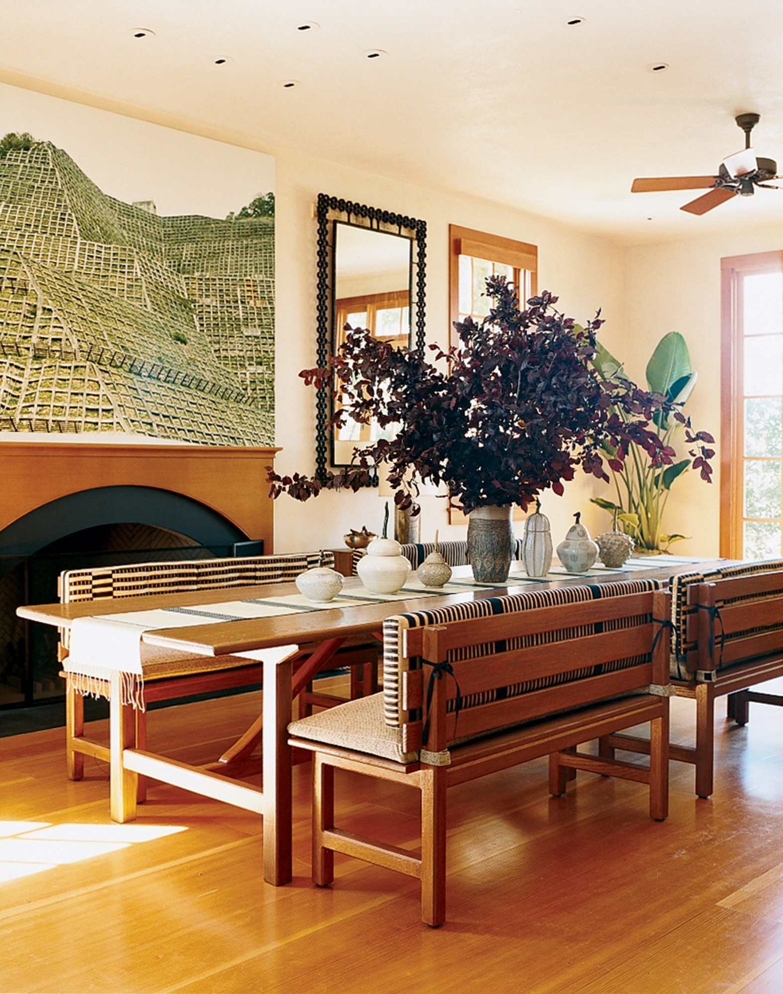 A Look At 30 Dining Rooms In Vogue – Vogue Intended For Most Up To Date Vogue Dining Tables (View 1 of 25)