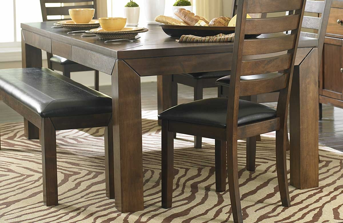 Acacia Dining Tables Throughout Well Known Homelegance Eagleville Dining Table – Acacia 5346  (View 5 of 25)