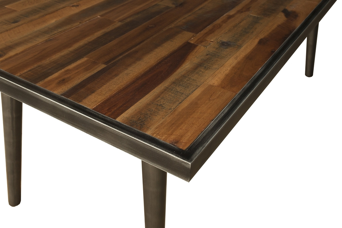 Acacia Wood Dining Table (Gallery 11 of 25)