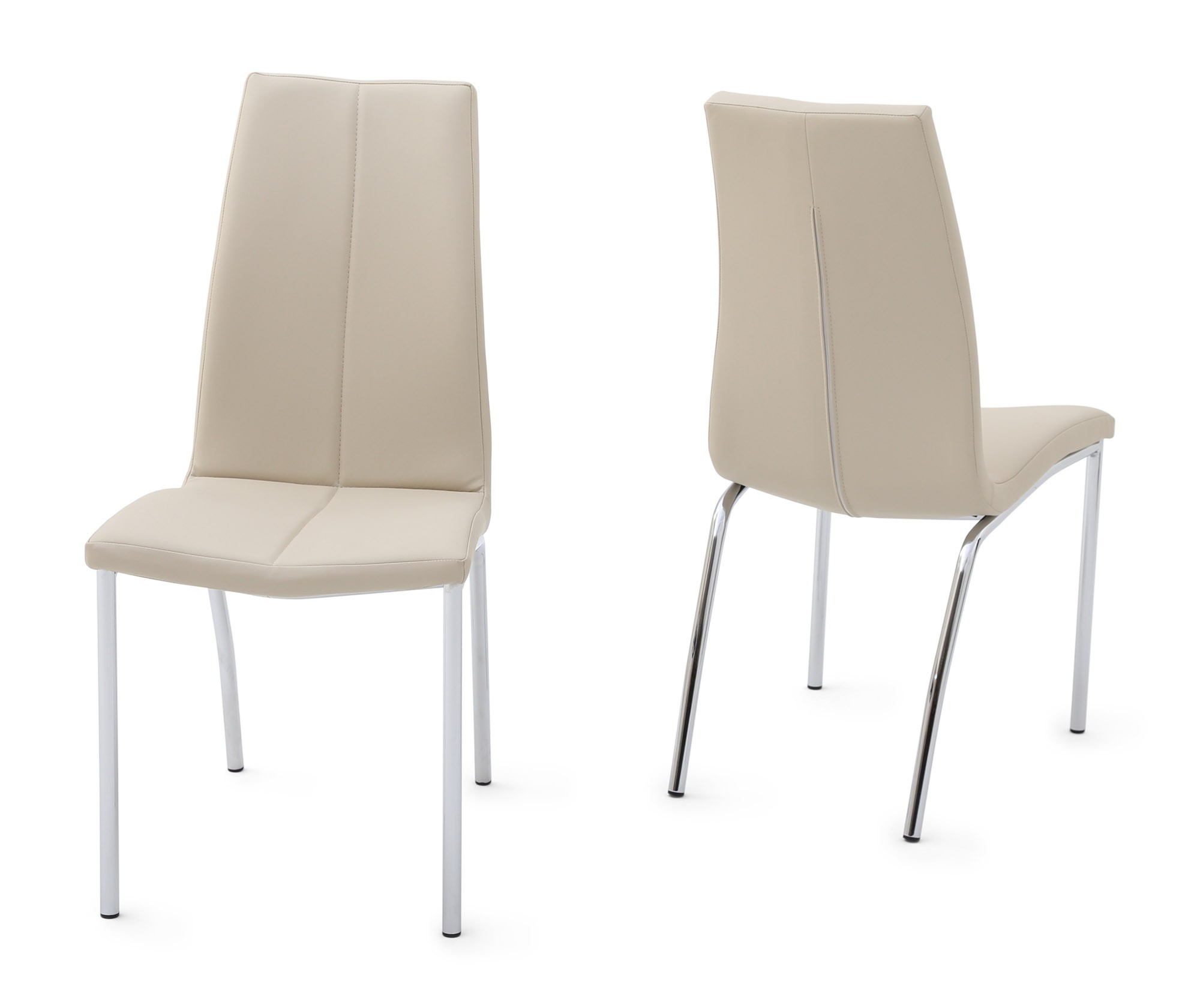 Ada Cream Leather Dining Chair Intended For Favorite Cream Leather Dining Chairs (View 3 of 25)