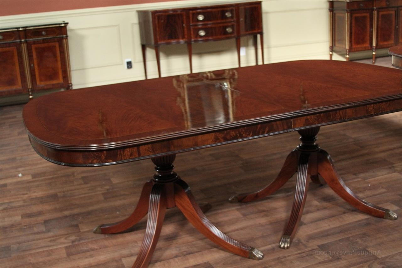 Advantages Of Mahogany Dining Tables – Home Decor Ideas Within Famous Mahogany Dining Tables Sets (View 2 of 25)