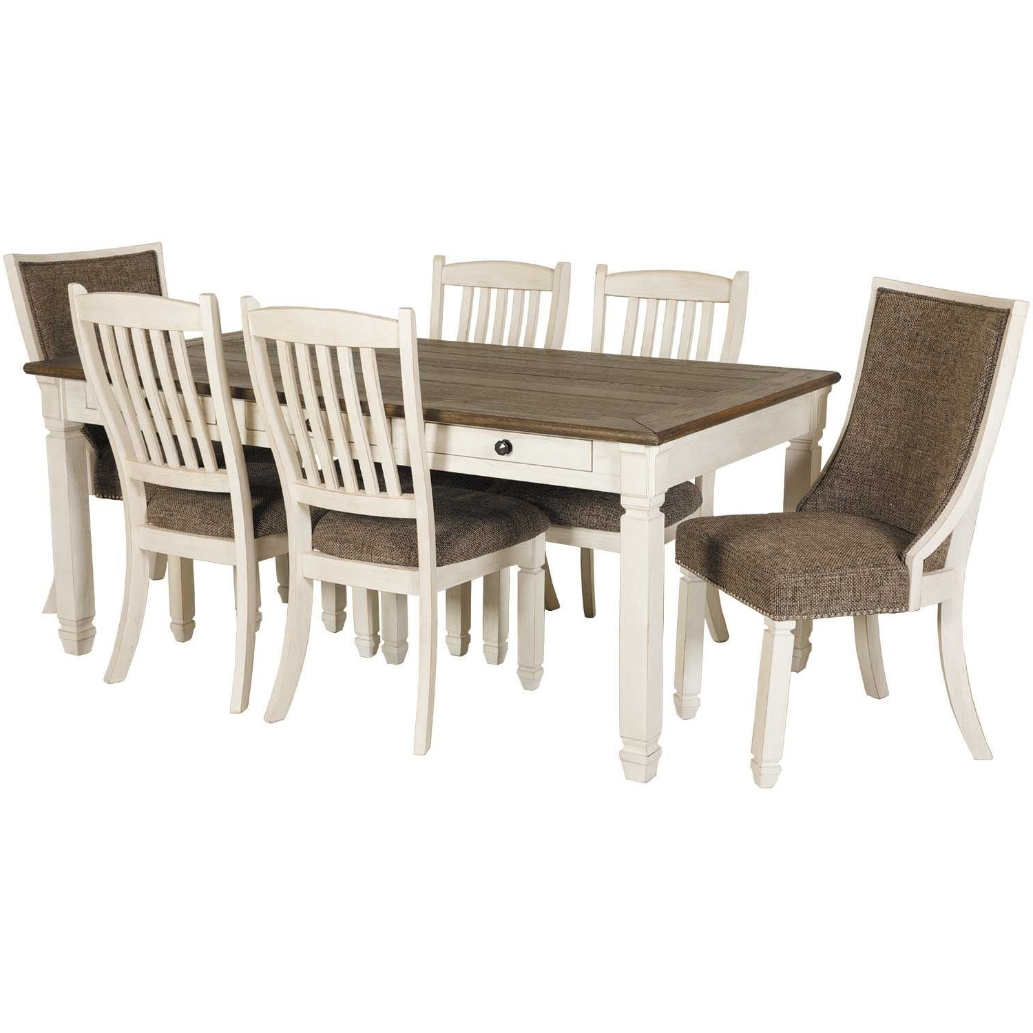 Featured Photo of Market 7 Piece Dining Sets With Host And Side Chairs