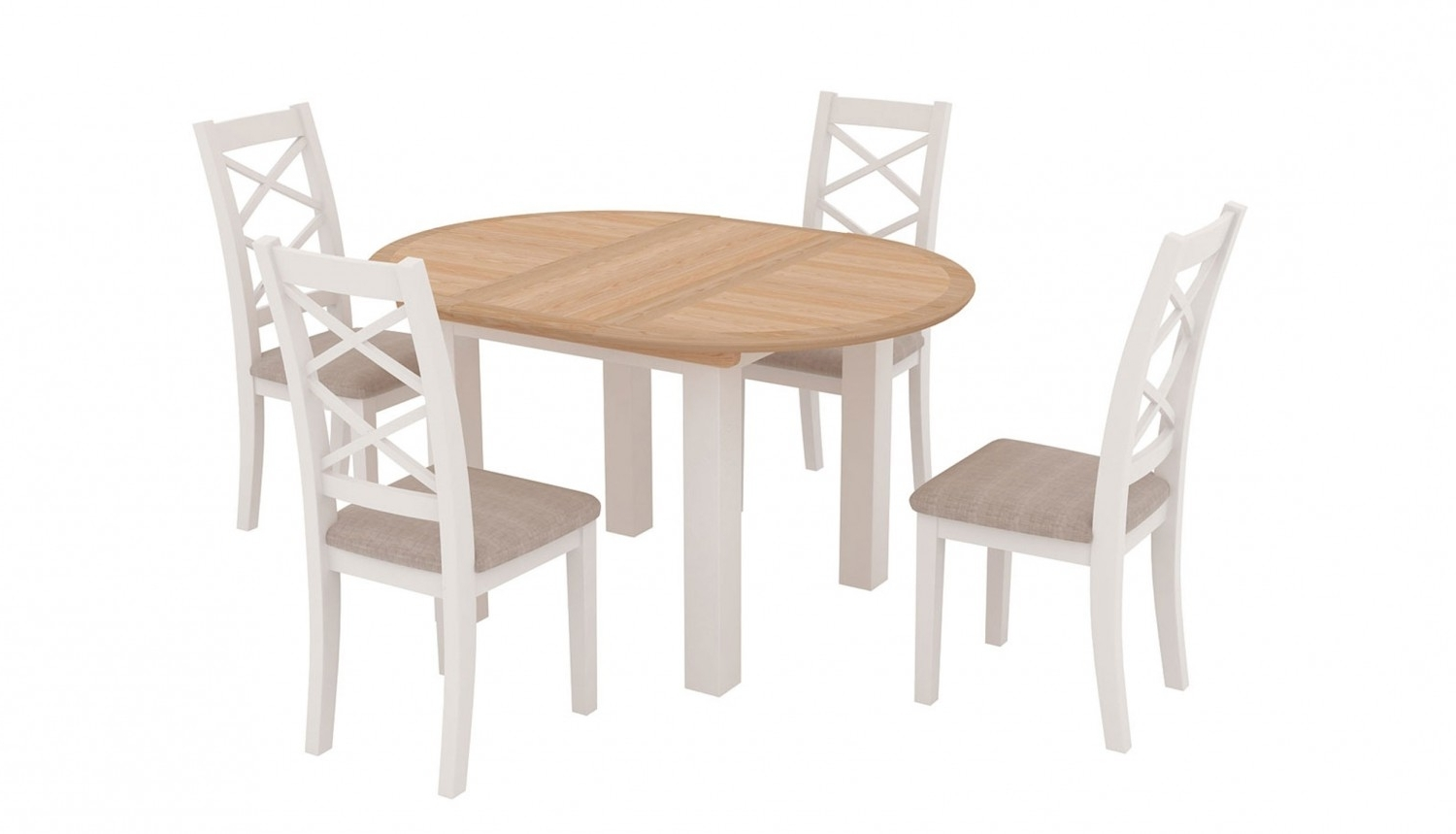 Ahf For Most Popular Round Extending Dining Tables And Chairs (View 3 of 25)
