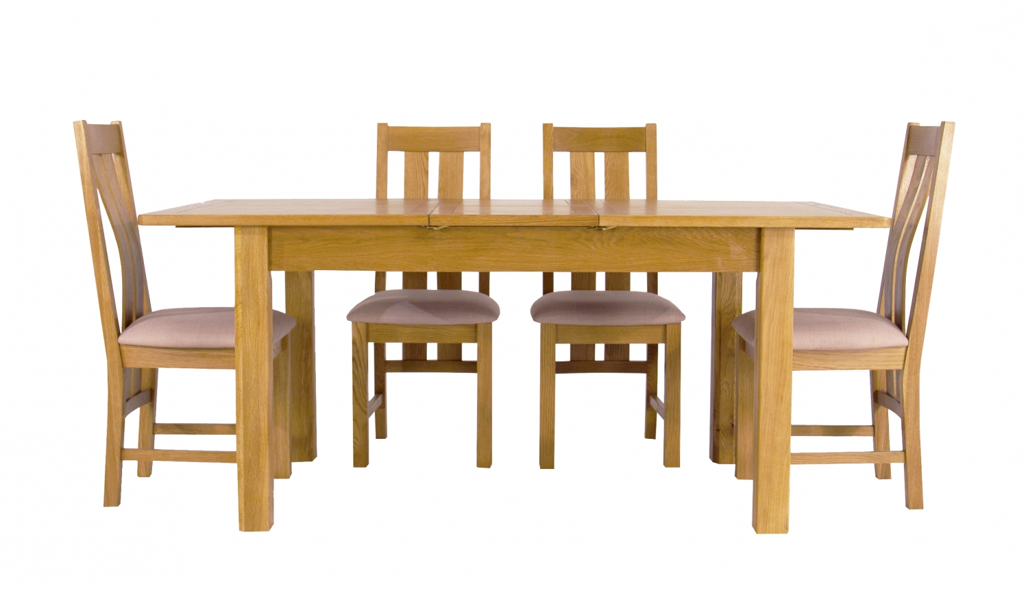 Ahf Inside Oak Extending Dining Tables And 4 Chairs (View 24 of 25)