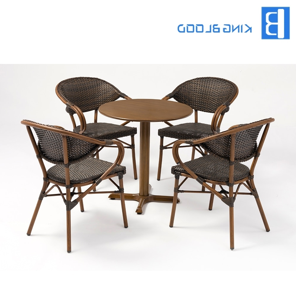 Aliexpress : Buy Factory Price Pe Rattan Dining Table And Rattan With Regard To Most Recently Released Rattan Dining Tables (Gallery 24 of 25)