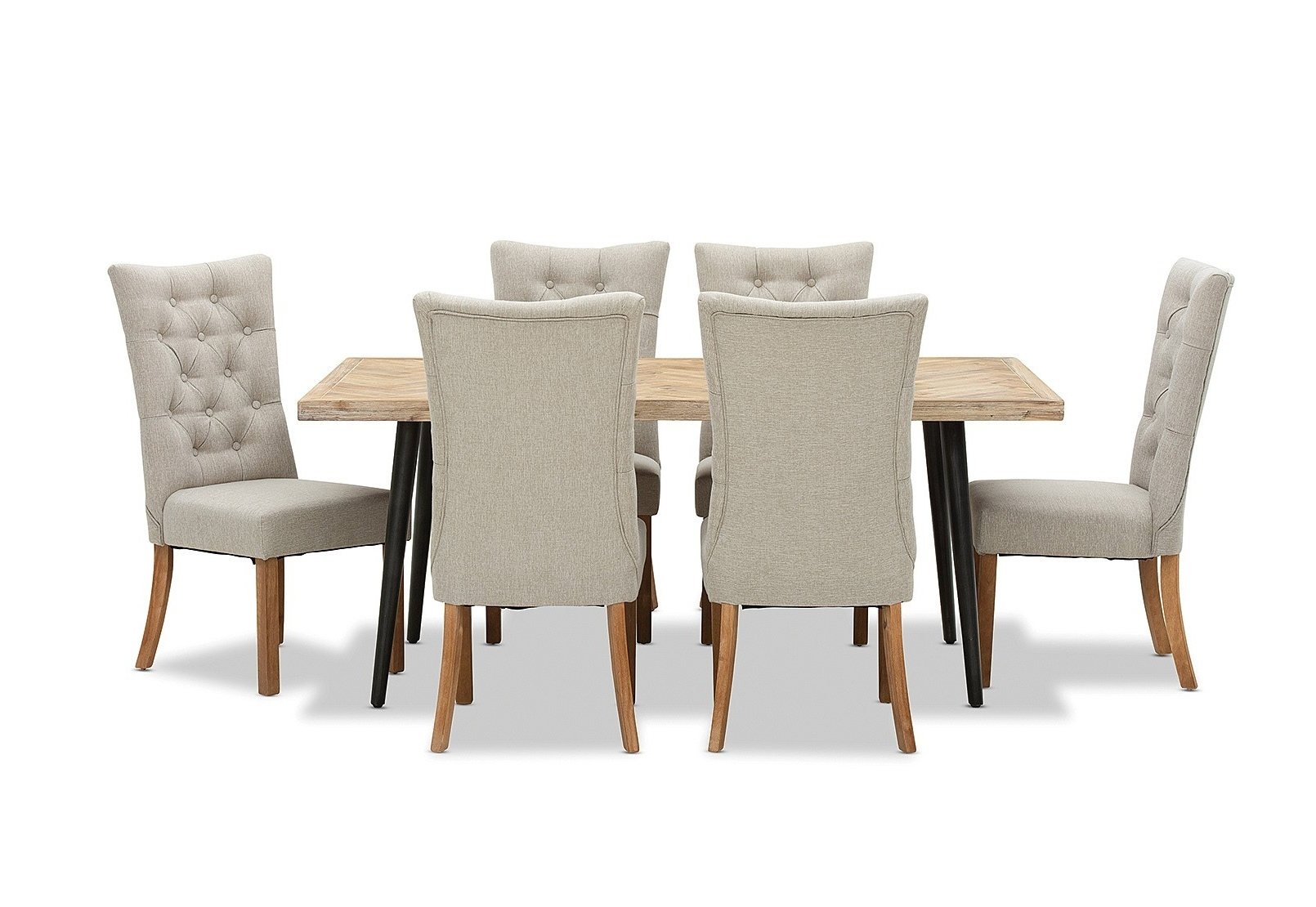 Amart Inside 2018 Logan 7 Piece Dining Sets (View 2 of 25)
