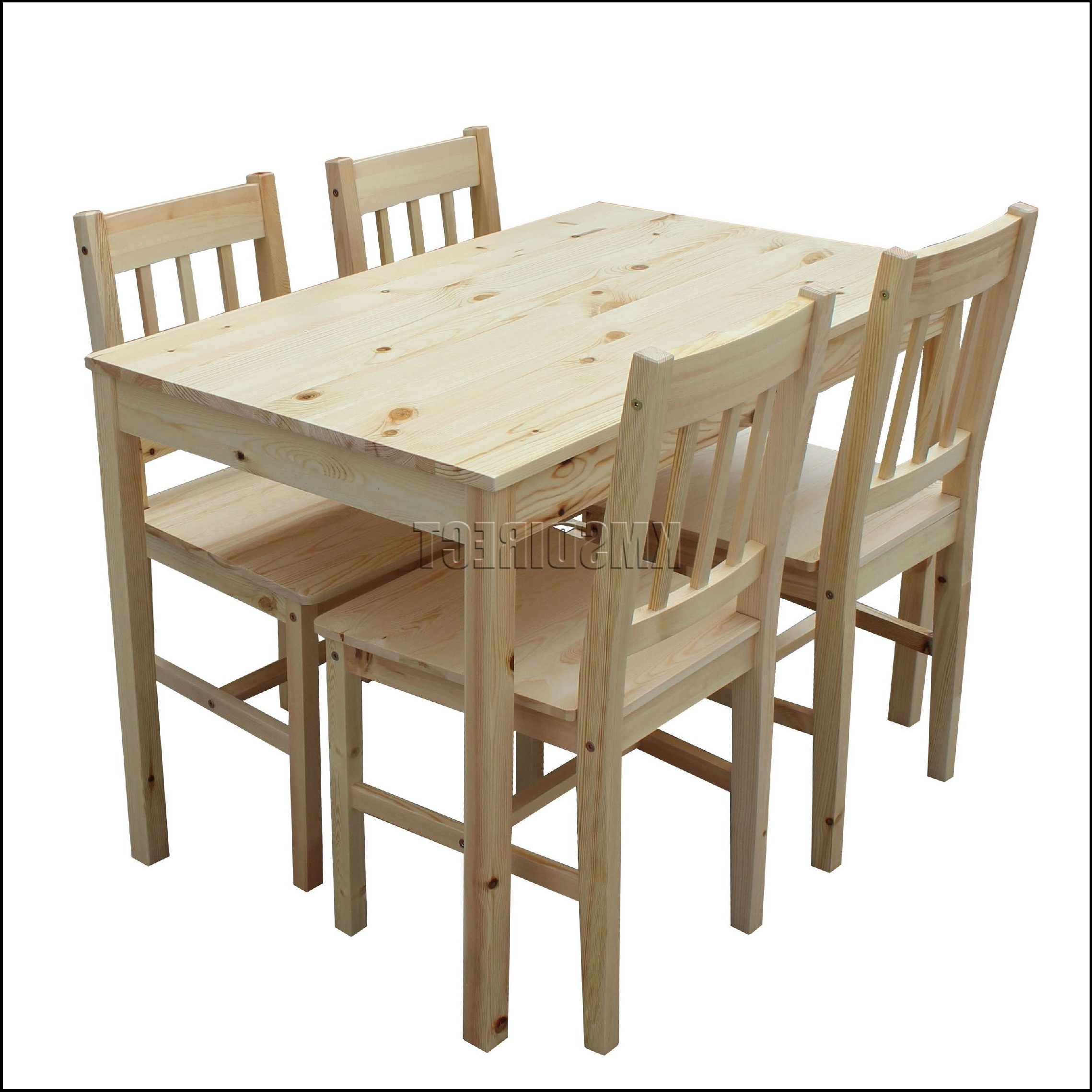 Amazing Cheap Dining Tables And 4 Chairs With Dining Table And 4 Inside 2018 Cheap Dining Tables (View 13 of 25)