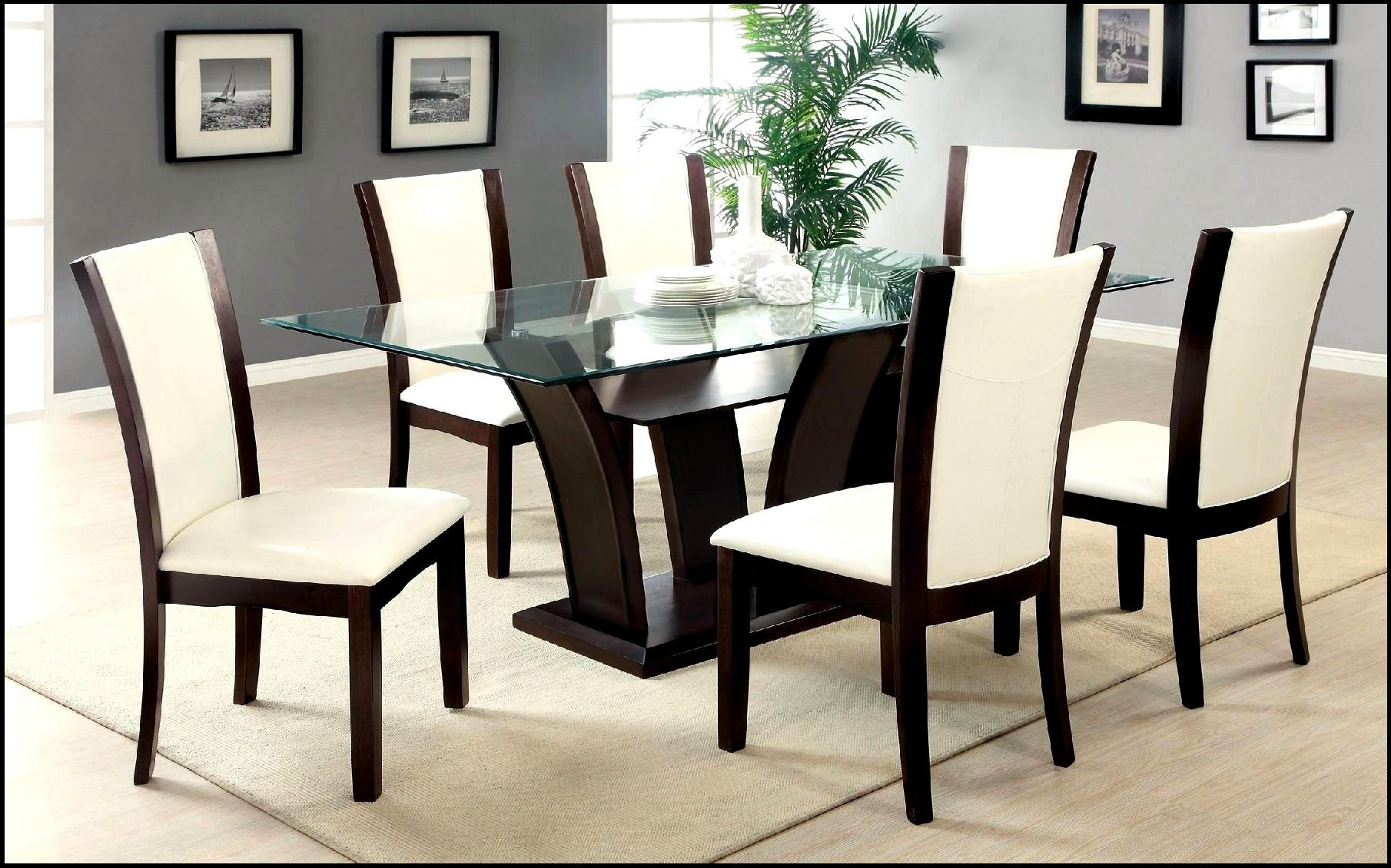 Amazing Dining Table And Six Chairs (View 4 of 25)