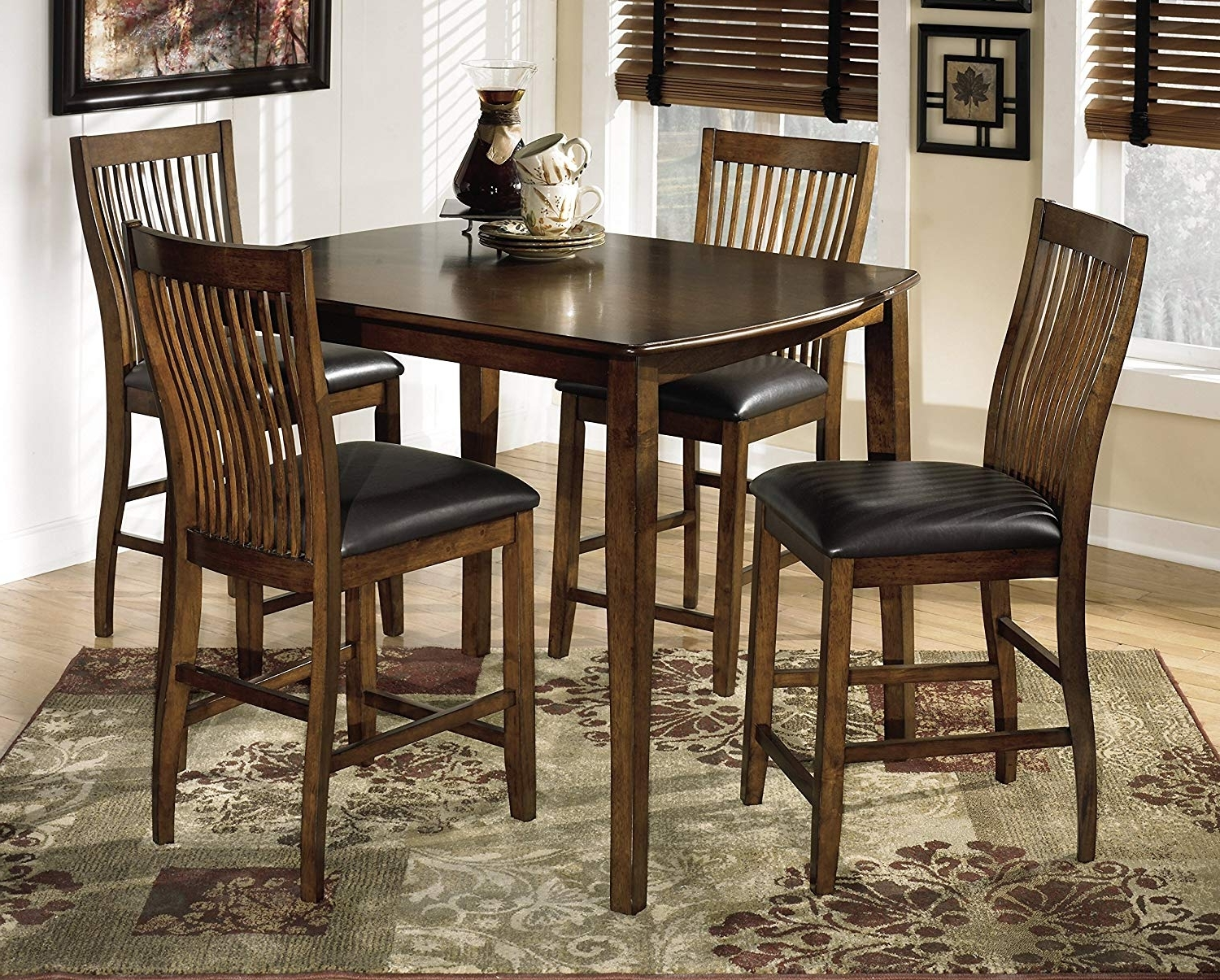 Amazon – Ashley Furniture Signature Design – Stuman Dining Side With Regard To Best And Newest Combs 48 Inch Extension Dining Tables (View 2 of 25)