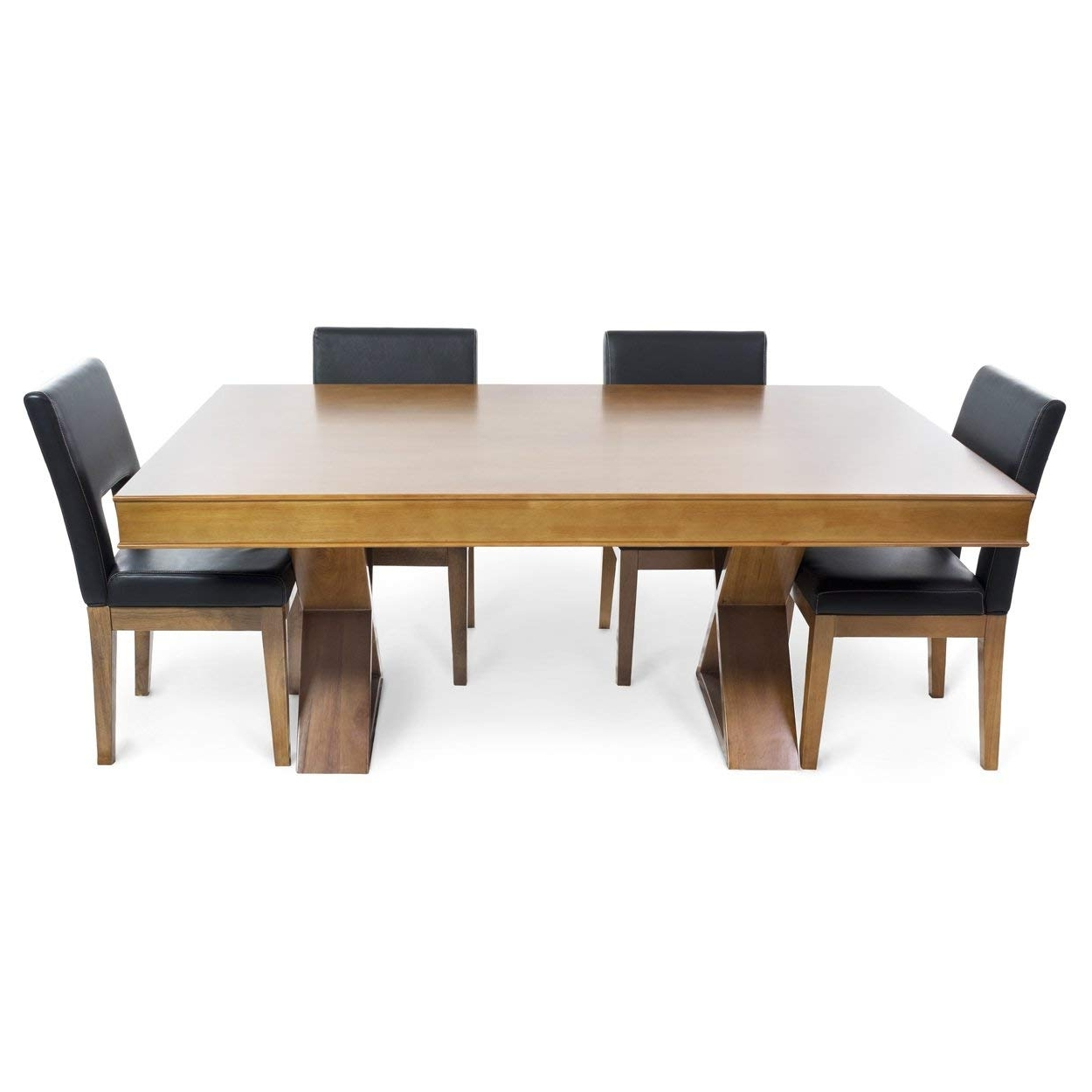 Amazon : Bbo Poker Helmsley Poker Table For 8 Players With Black Inside Recent Helms 6 Piece Rectangle Dining Sets (View 9 of 25)