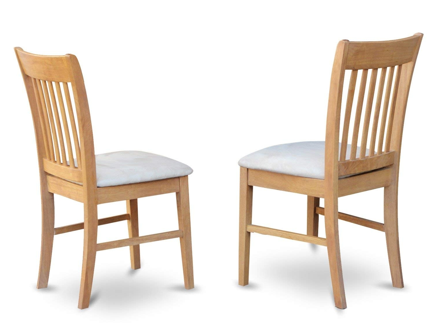 Amazon – East West Furniture Nfc Oak C Kitchen/dining Chair Set Pertaining To 2017 Oak Dining Chairs (View 9 of 25)