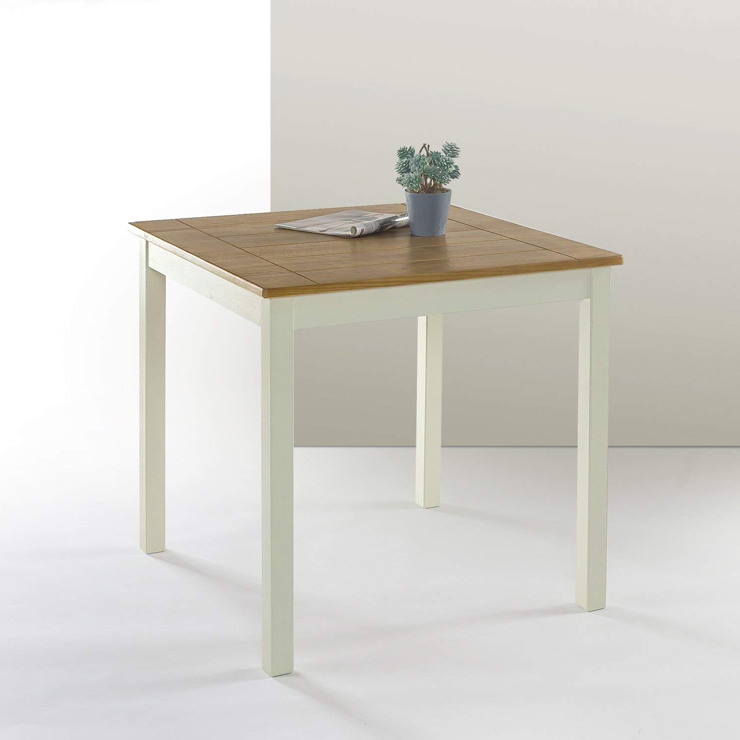 Amazon In Dark Wood Square Dining Tables (View 18 of 25)