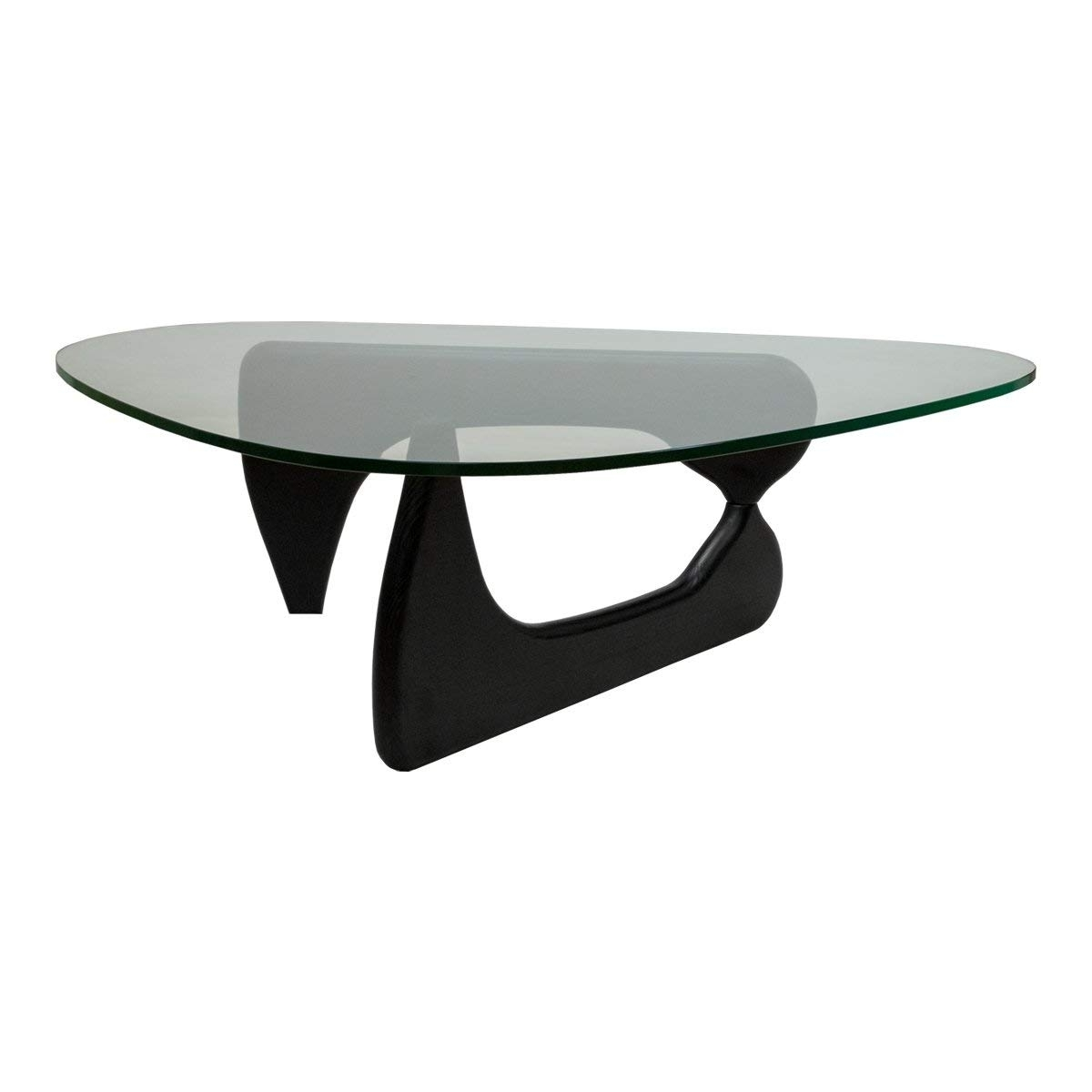 Amazon: Mod Made Tribeca Coffee Table, Black: Kitchen & Dining Inside Current Carly Triangle Tables (View 9 of 25)