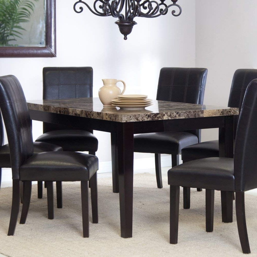Amazon – Palazzo Dining Table – Tables Within Well Liked Palazzo Rectangle Dining Tables (View 8 of 25)