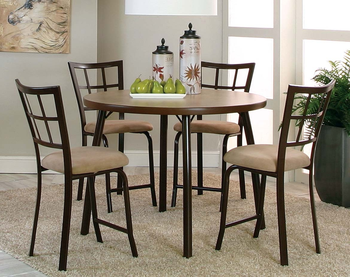 American Freight Regarding Newest Valencia 5 Piece Counter Sets With Counterstool (View 4 of 25)