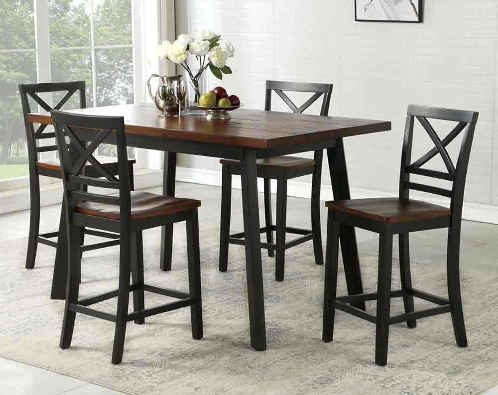 American Freight With Well Liked Valencia 5 Piece Counter Sets With Counterstool (View 5 of 25)