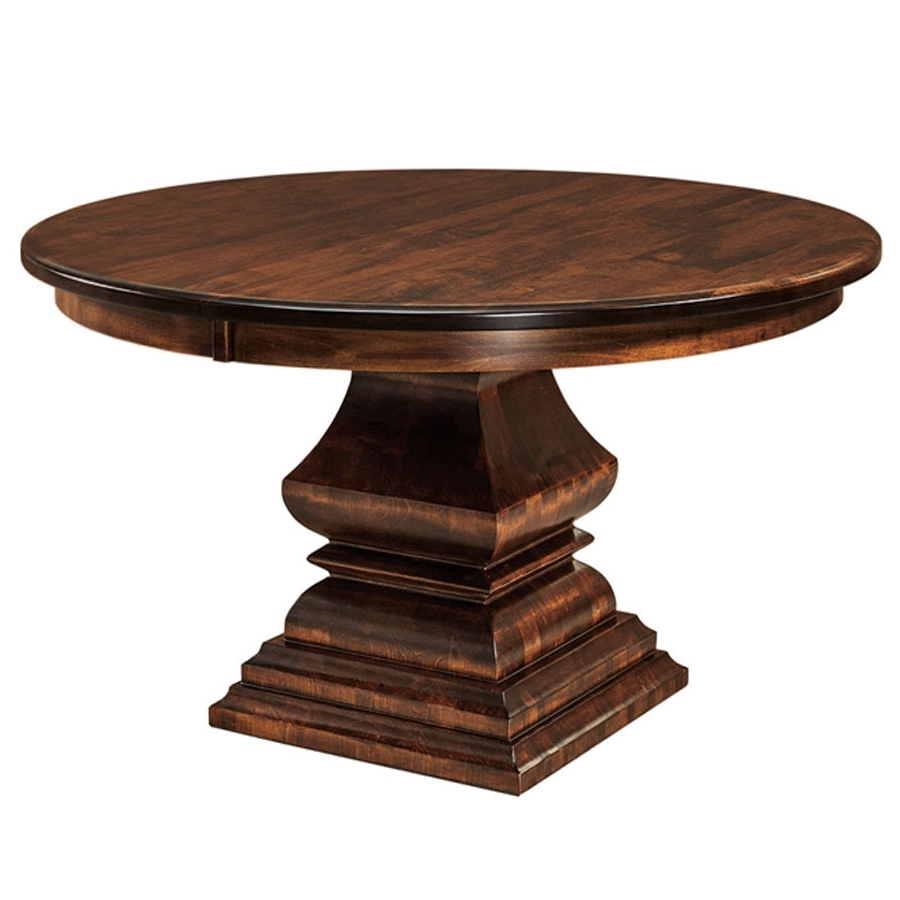 Amish Furniture In Bradford Dining Tables (View 3 of 25)
