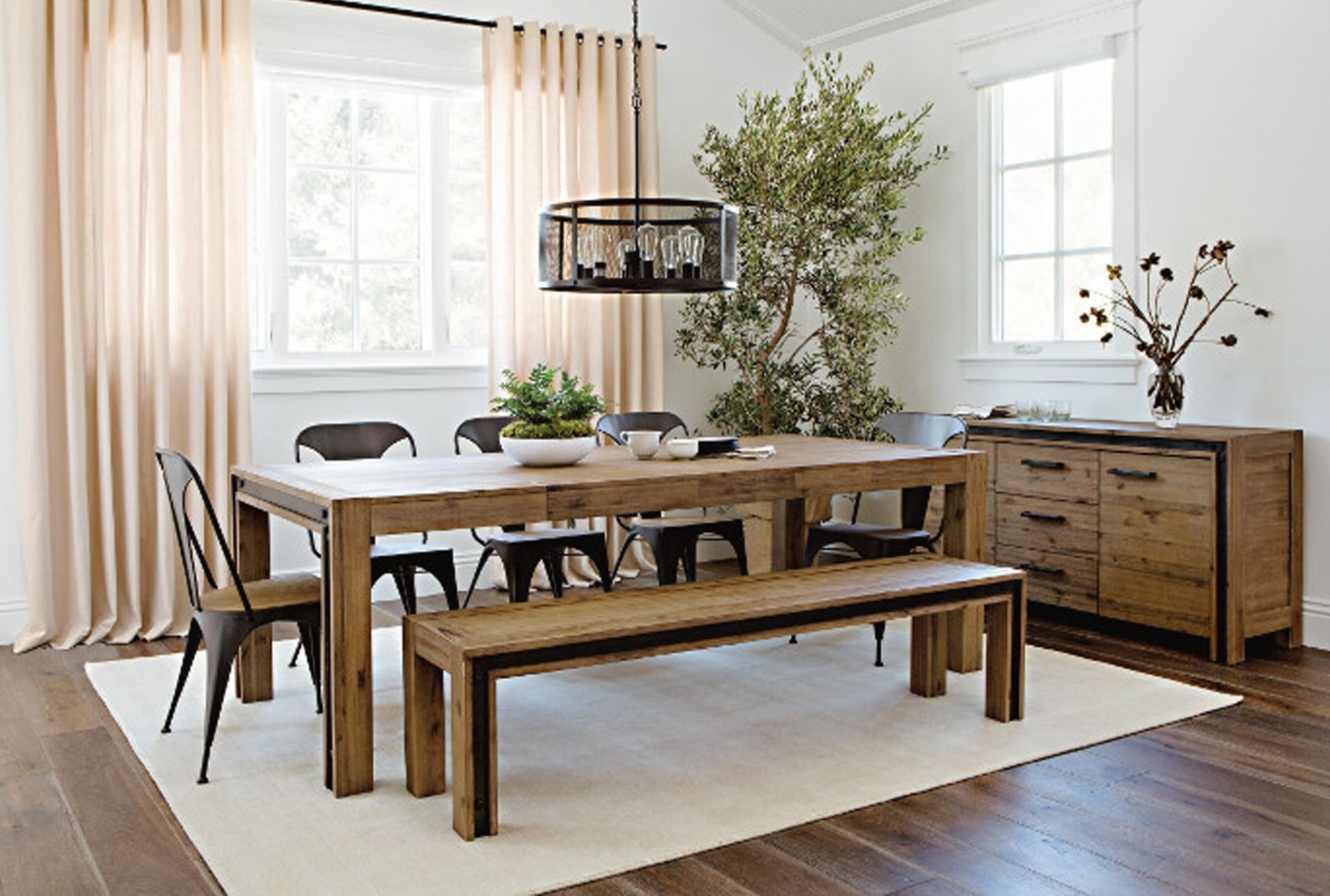 Amos 7 Piece Extension Dining Sets Regarding Best And Newest Amos Extension Dining Table House Decor With Living Spaces Dining (Gallery 13 of 25)