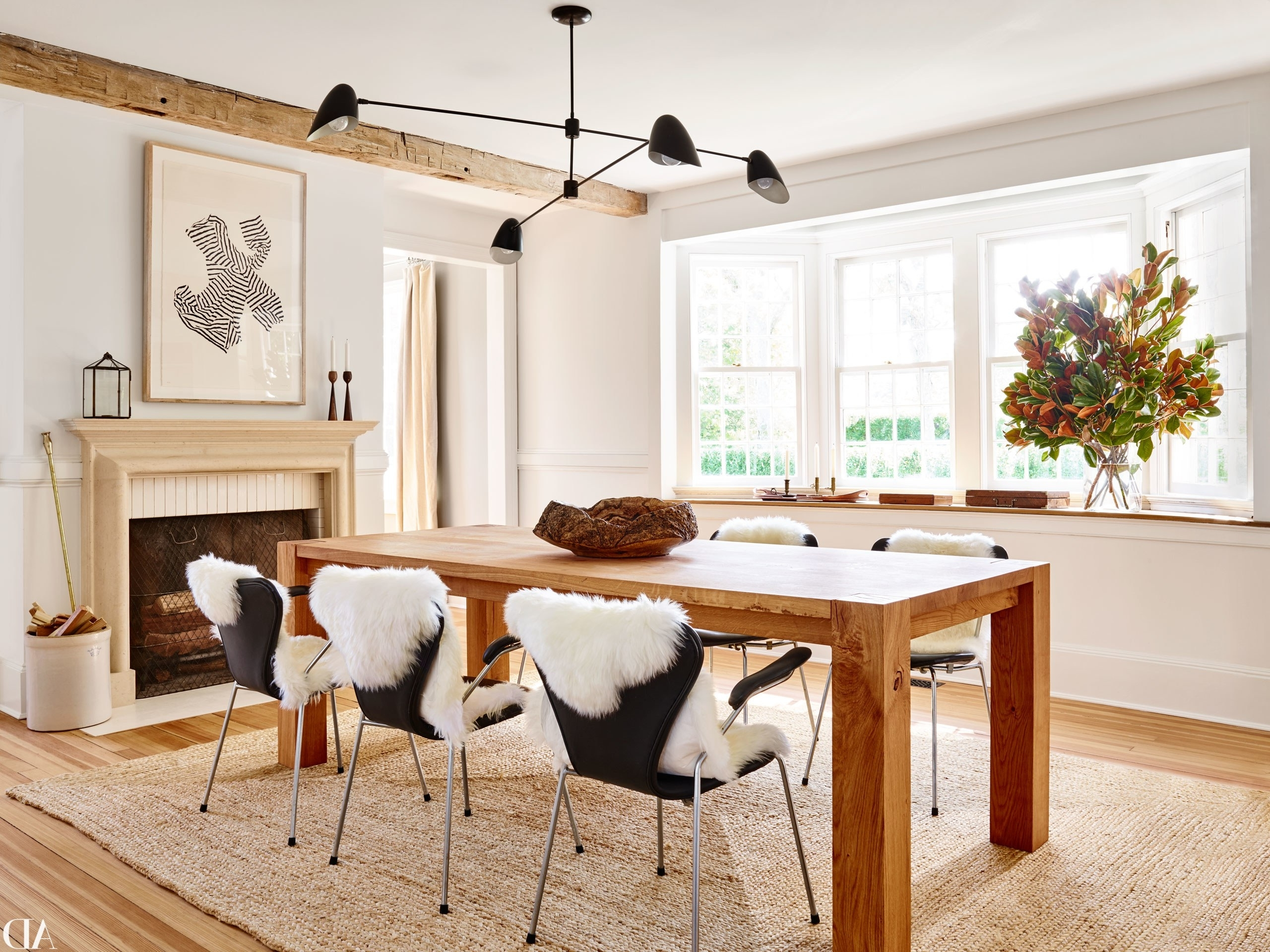 Architectural Digest For Favorite White Dining Suites (View 21 of 25)
