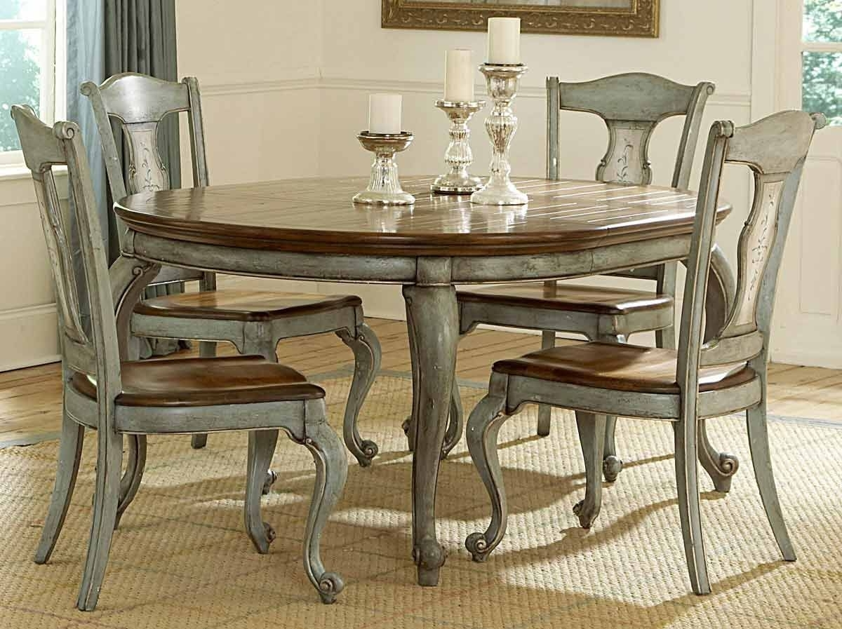Around For Favorite Painted Dining Tables (Gallery 1 of 25)