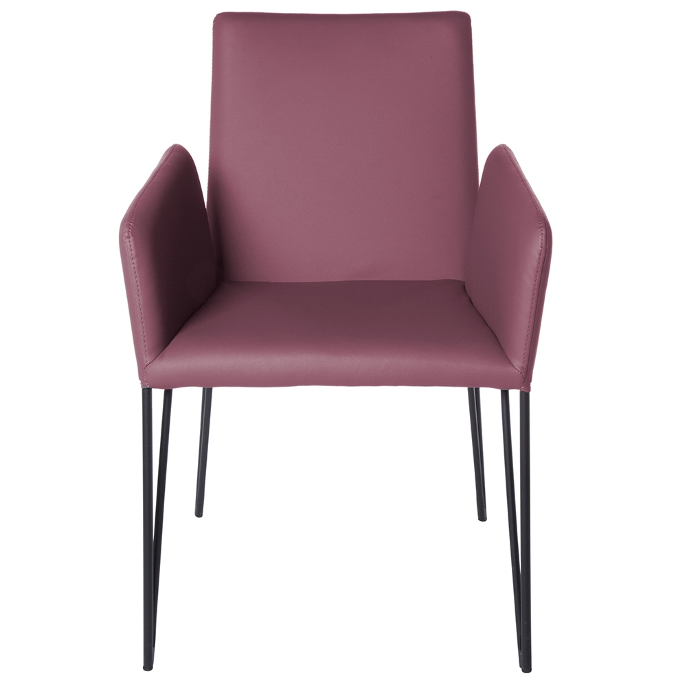 Artem Purple Arm Chair (View 11 of 25)