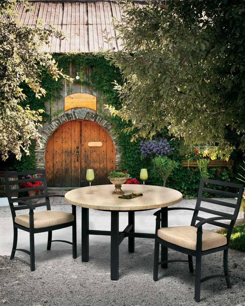 Artisanal Dining Tables Regarding Trendy Artisanal Outdoor Tables: Travel To Tuscany In Your Own Backyard (View 8 of 25)