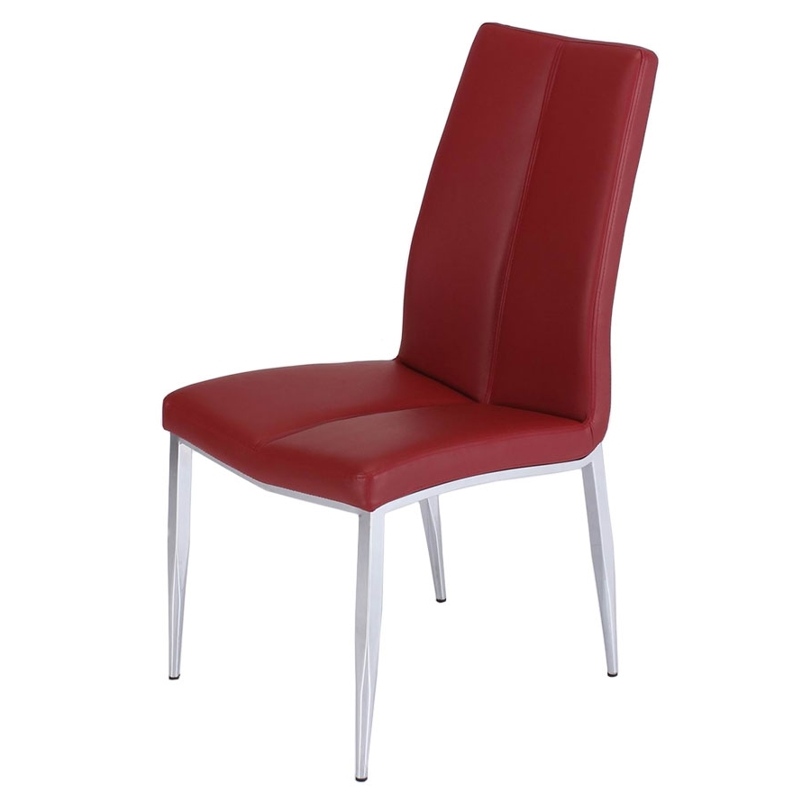 Arturo Red Side Chair (Gallery 5 of 25)
