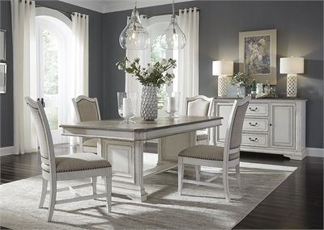 Atlanta's Inside White Dining Sets (View 21 of 25)