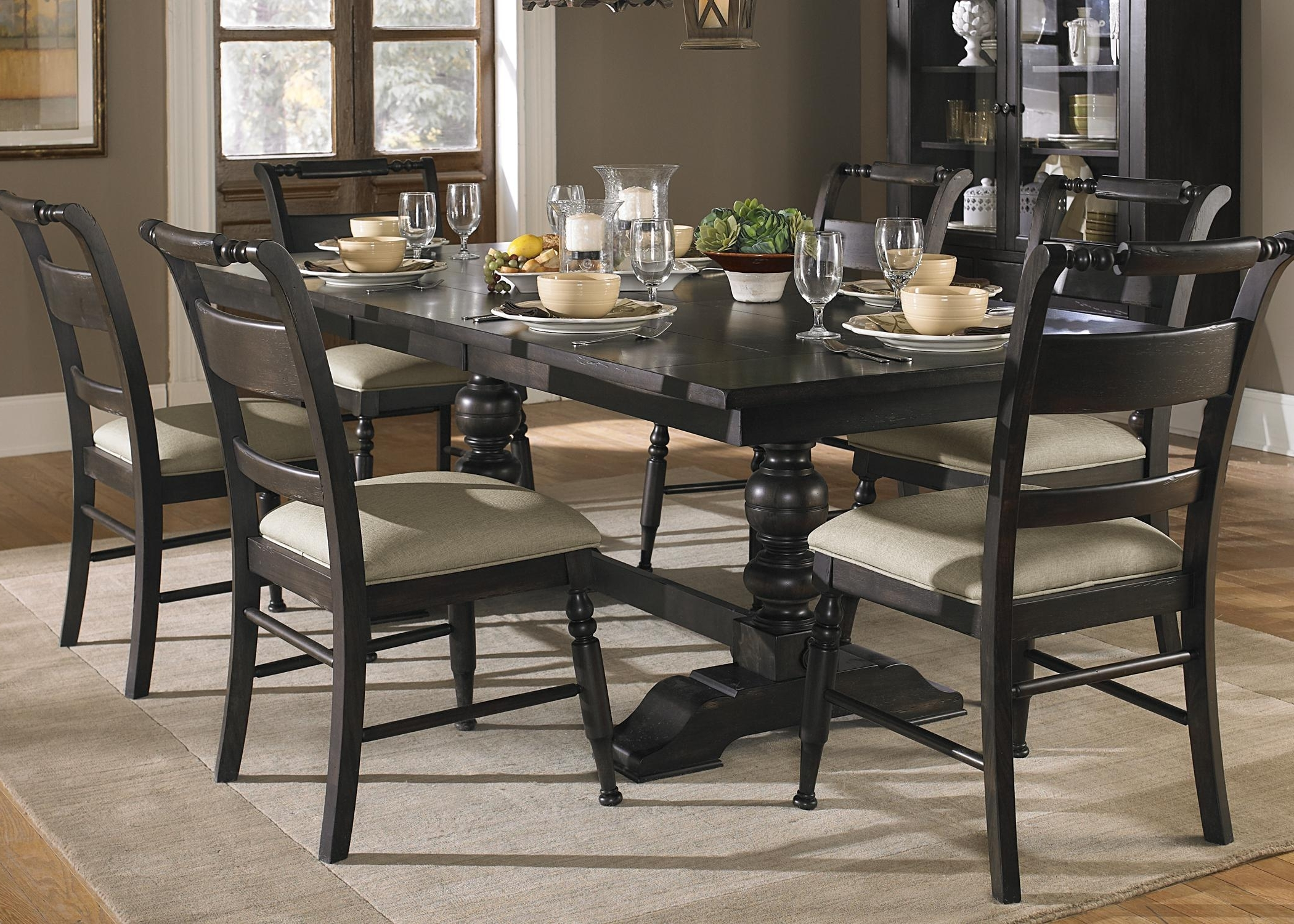Attractive Design Trestle Dining Room Table — Boundless Table Ideas Pertaining To Recent Dining Room Tables (Gallery 19 of 25)