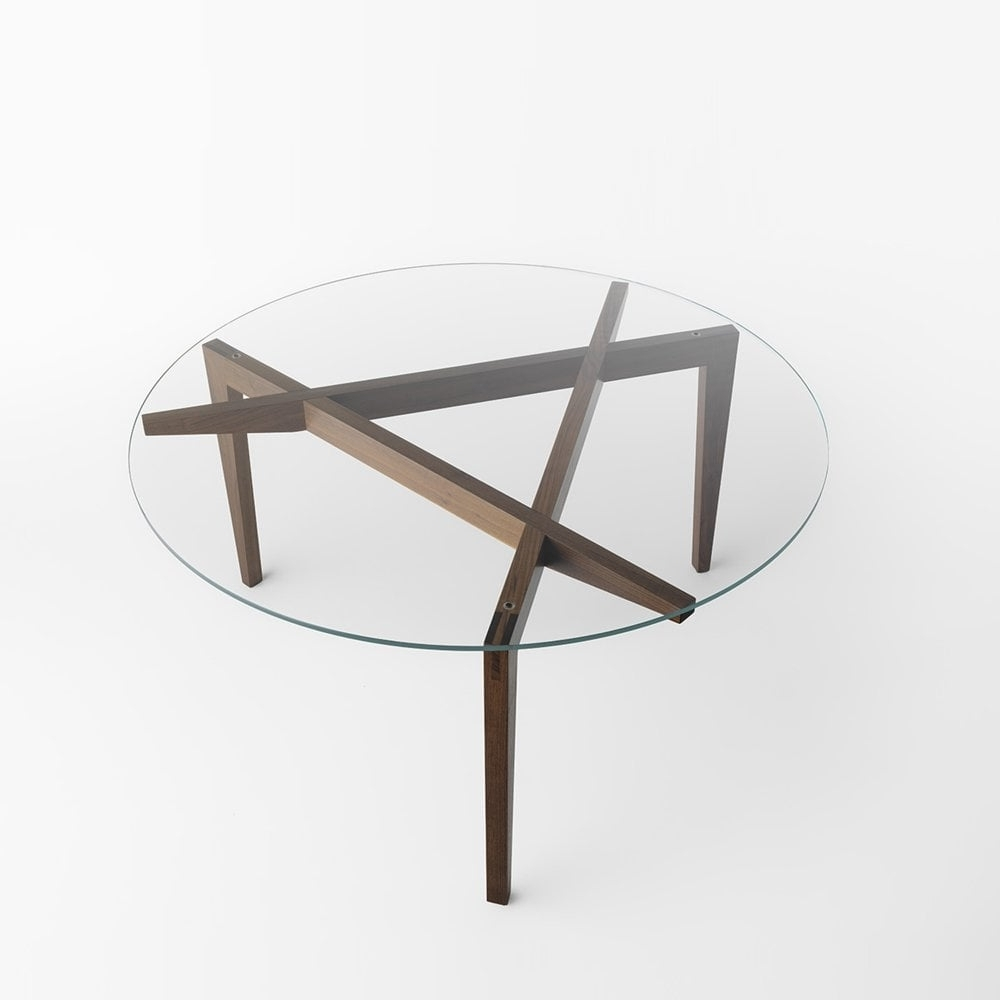 Autoreggente Circular Dining Table Glassdomain.co (View 21 of 25)