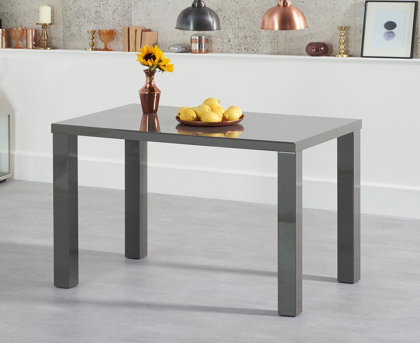 [%Ava 120Cm Dark Grey High Gloss Dining Table [255064] – £237.00 Intended For Widely Used White Gloss Dining Tables 120Cm|White Gloss Dining Tables 120Cm Regarding 2018 Ava 120Cm Dark Grey High Gloss Dining Table [255064] – £237.00|Best And Newest White Gloss Dining Tables 120Cm Throughout Ava 120Cm Dark Grey High Gloss Dining Table [255064] – £237.00|Most Recently Released Ava 120Cm Dark Grey High Gloss Dining Table [255064] – £ (View 15 of 25)