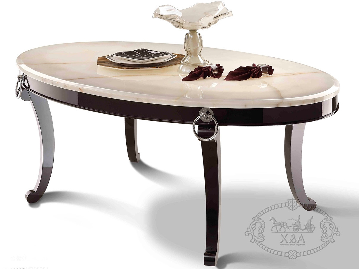A&x Bellagio Luxurious Transitional Marble Dining Table For Recent Bellagio Dining Tables (Gallery 23 of 25)