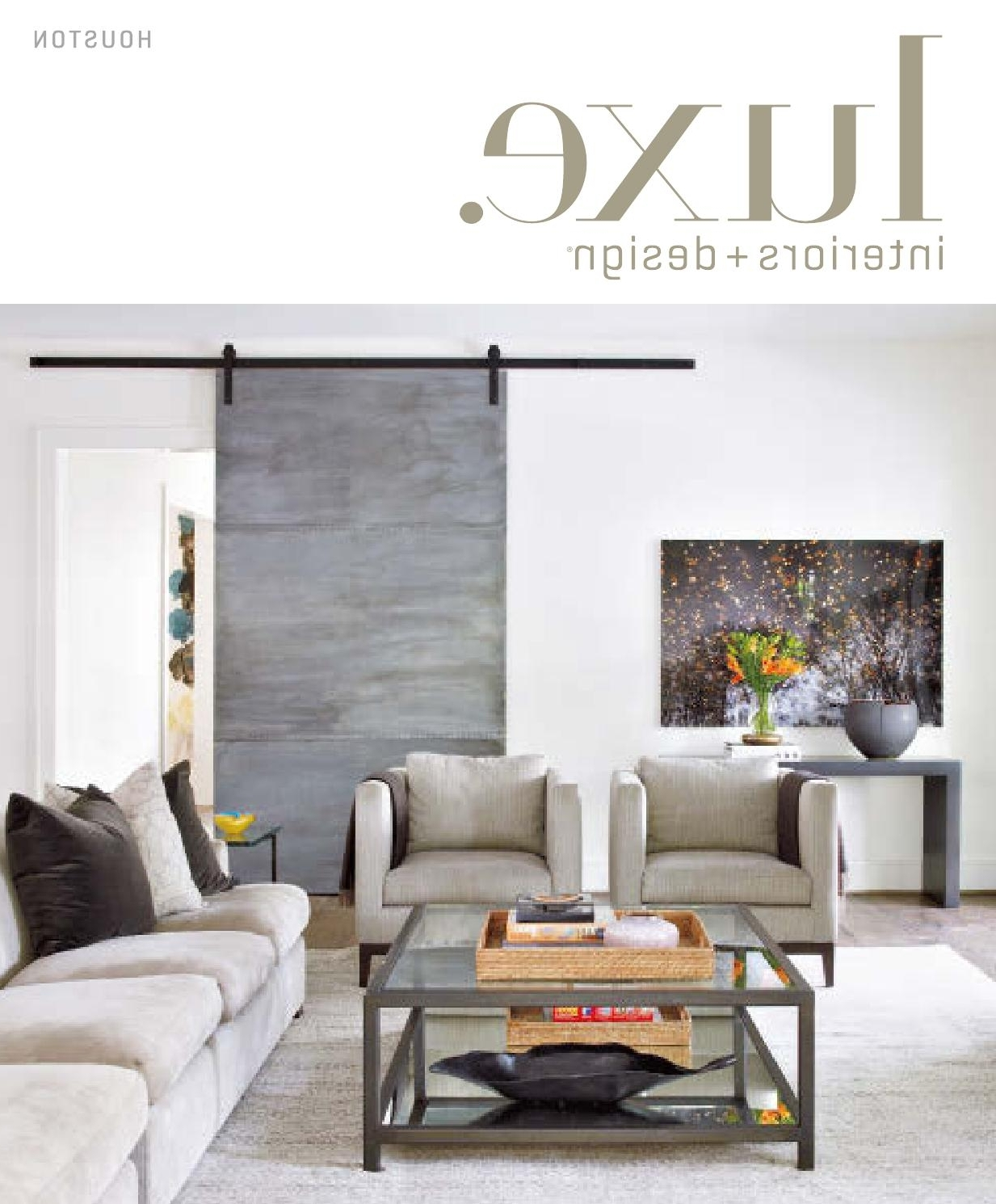 Bale Rustic Grey 7 Piece Dining Sets With Pearson Grey Side Chairs For Preferred Luxe Magazine September 2015 Houstonsandow® – Issuu (Gallery 24 of 25)