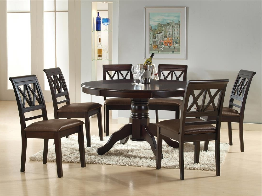 Bali 6 Cushion Chair +1 Round Table (End 12/4/2019 11:15 Pm) With Favorite Bali Dining Sets (Gallery 19 of 25)