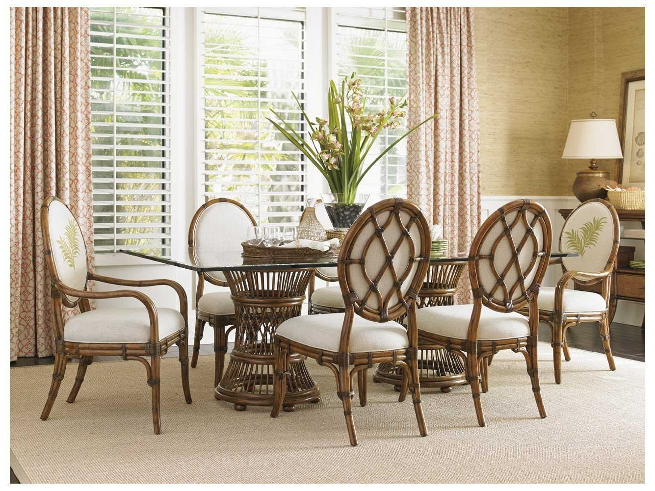 Bali Dining Sets With Regard To Most Popular Tommy Bahama Bali Hai Dining Set (Gallery 5 of 25)