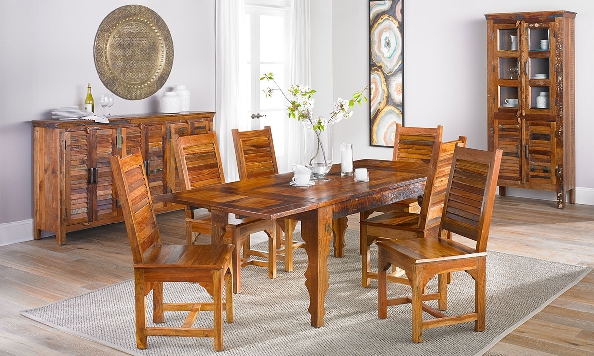 Bali Dining Tables With Trendy Bali Handmade Solid Wood Extension Dining Table (Gallery 14 of 25)