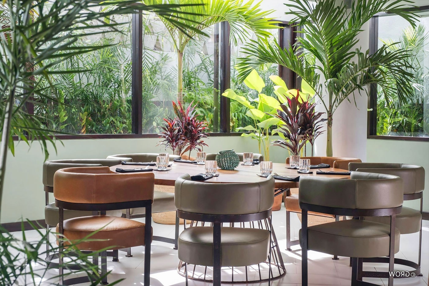 Balinese Dining Tables Intended For Widely Used Grow Bali Restaurant – Bali Magazine (View 5 of 25)