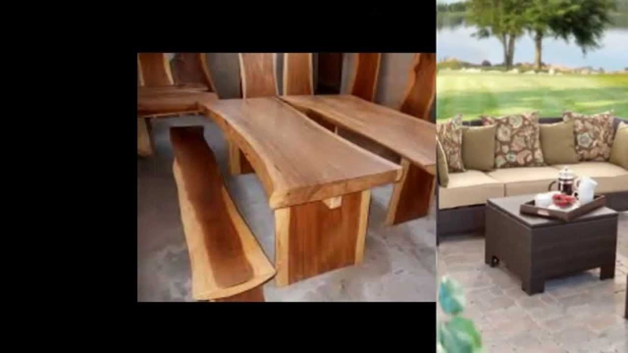 Balinese Outdoor Furniture – Youtube Inside Recent Balinese Dining Tables (View 7 of 25)