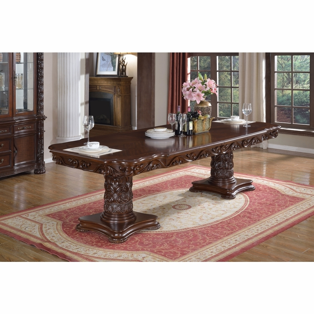 Barcelona Dining Tables Inside Well Known Meridian Furniture – Barcelona Dining Table – 701 T (View 7 of 25)