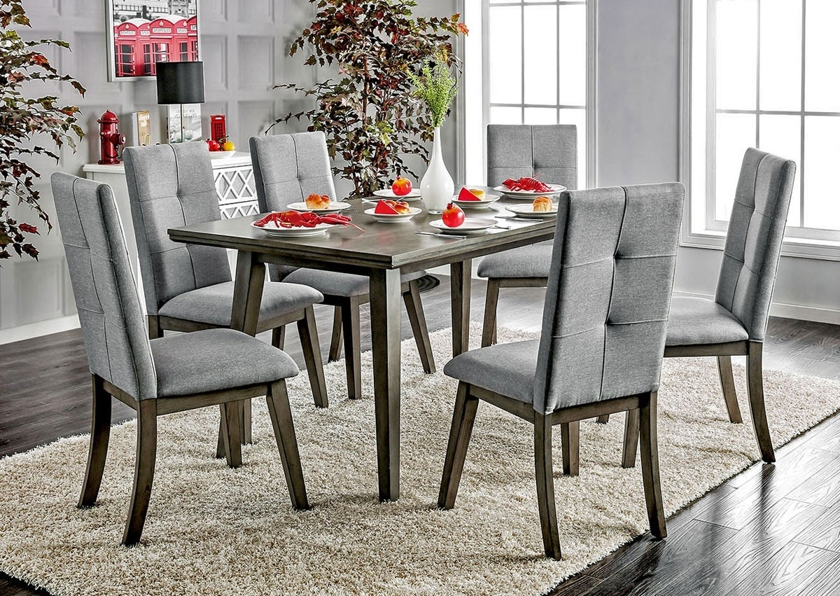 Bardolf Mid Century Modern Dining Table Set Throughout Most Up To Date Modern Dining Table And Chairs (View 3 of 25)