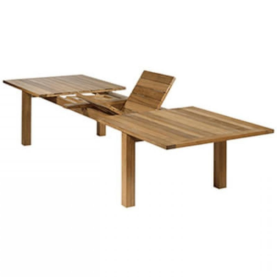 Barlow Tyrie Apex Teak Rectangular Extending Dining Table Throughout Current Extending Outdoor Dining Tables (View 22 of 25)