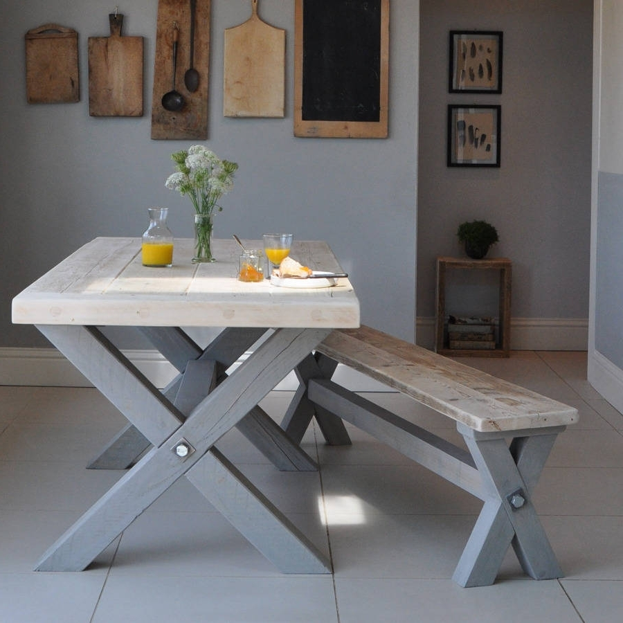 Barn House Dining Tables Regarding Well Known Reclaimed Timber Refectory Dining Tablehome Barn (View 9 of 25)