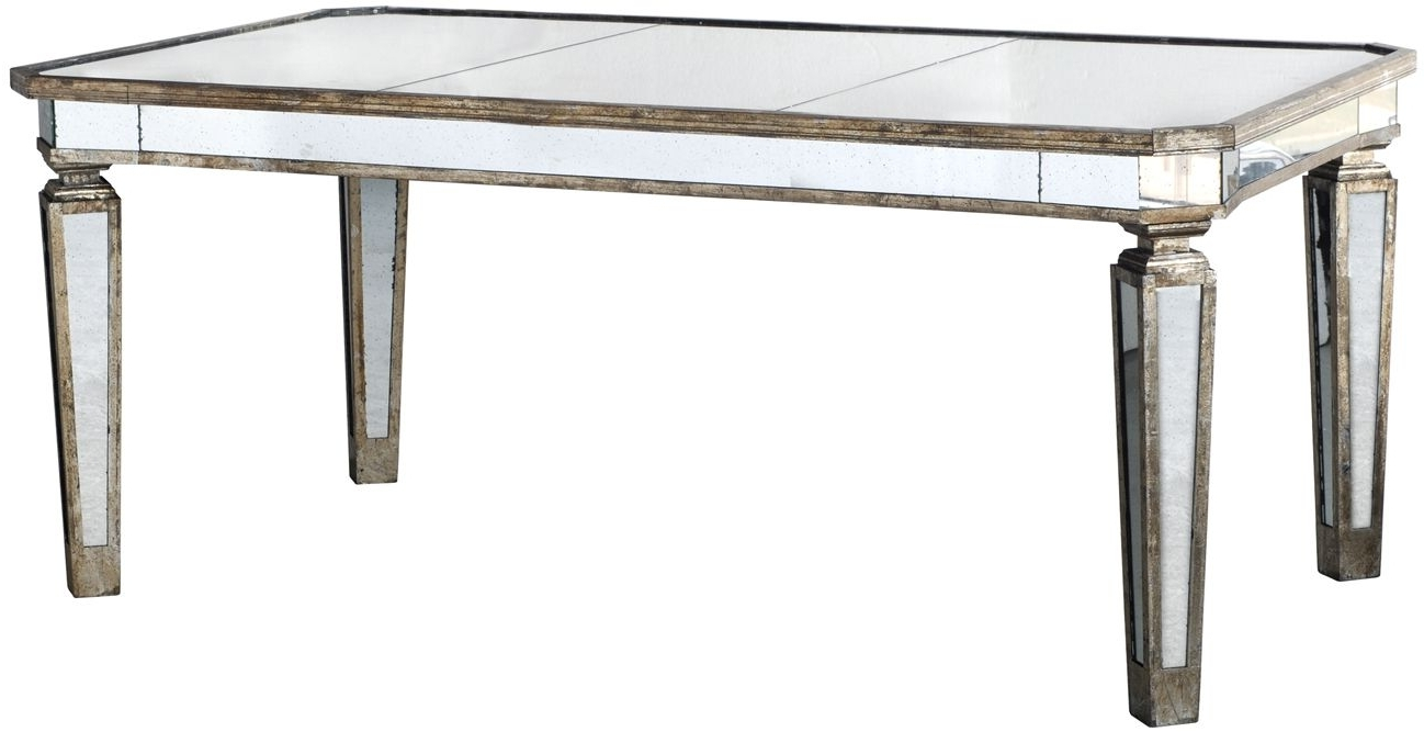 Barre Studio Intended For Antique Mirror Dining Tables (View 6 of 25)