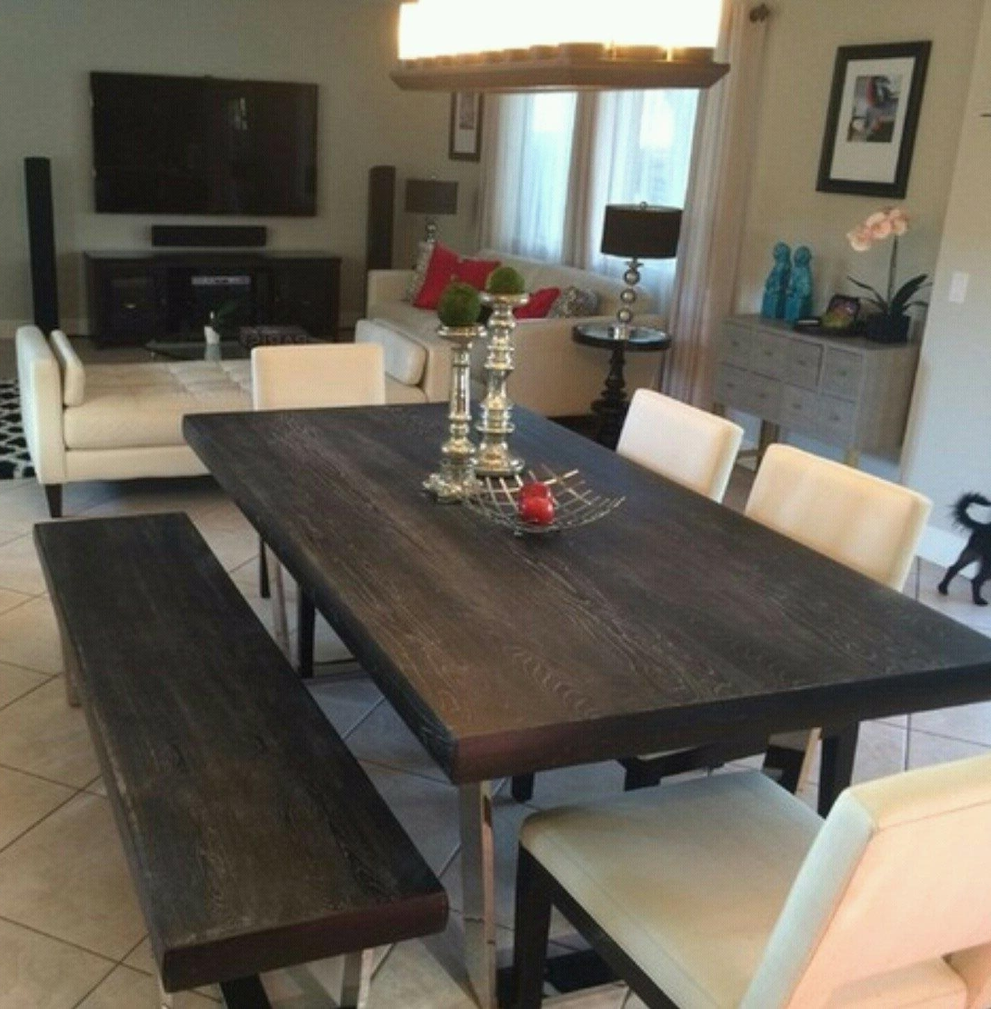 Bateau Grey Dining Tableliving Spaces: For Sale In Tempe In Latest Market Dining Tables (View 2 of 25)
