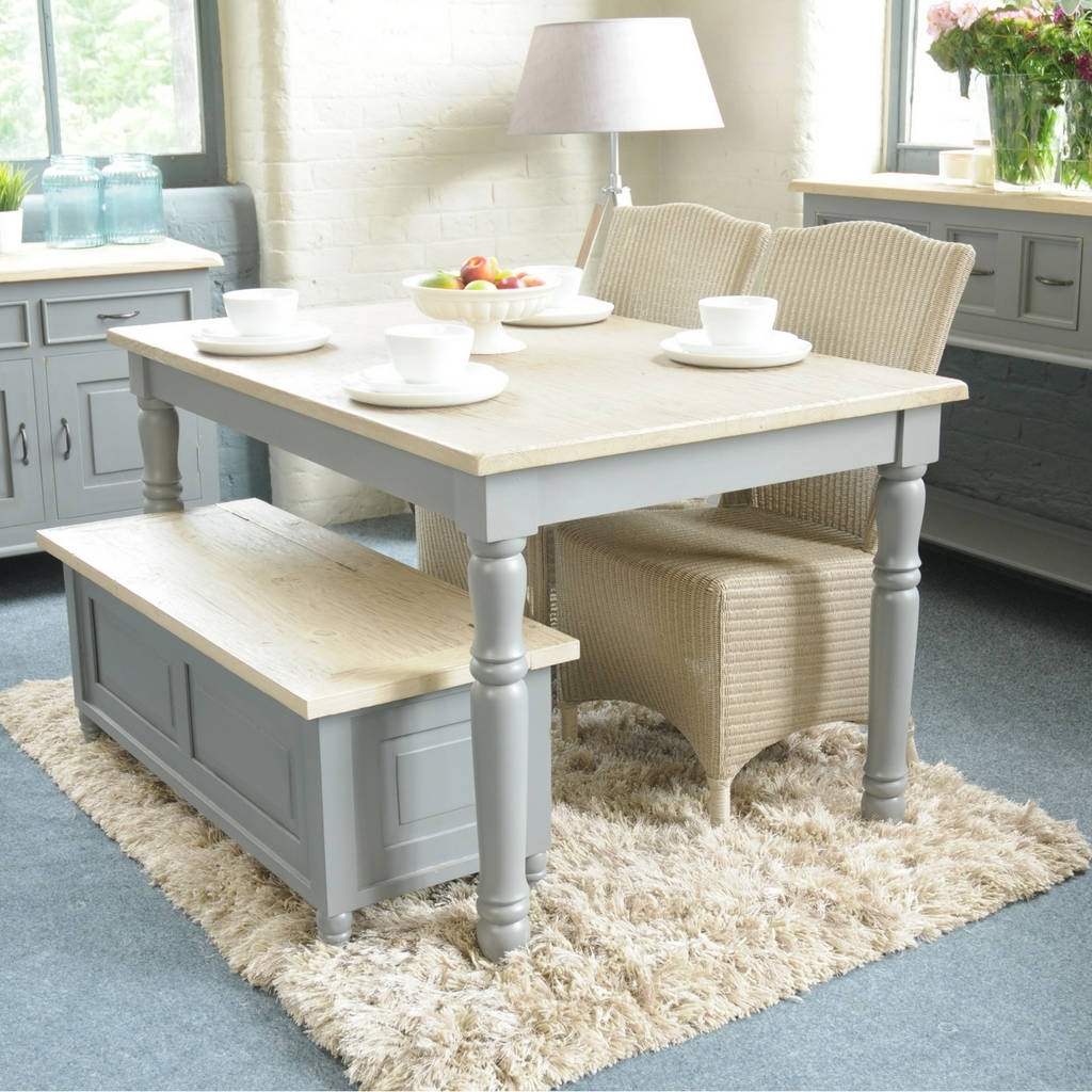 Bayonne White Or Grey Dining Table Multiple Sizesthe Orchard Throughout Well Liked Country Dining Tables (View 1 of 25)