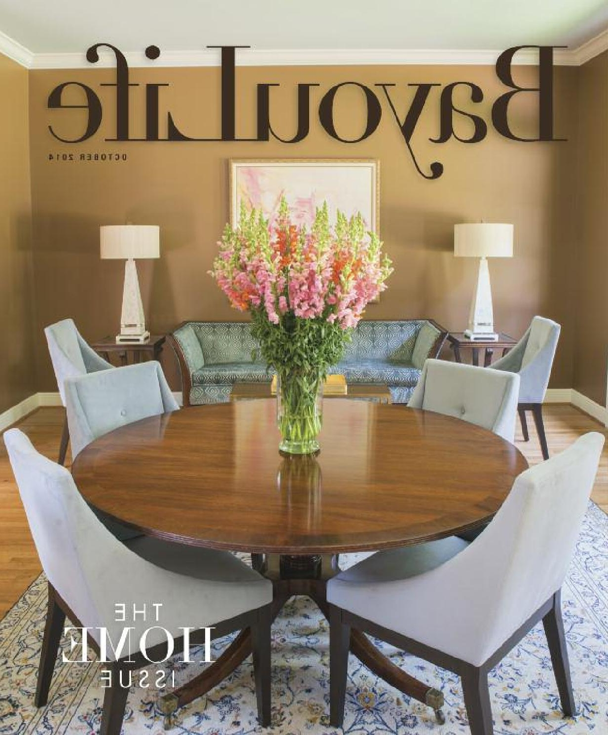 Bayoulife October 2014Bayoulife Magazine – Issuu Regarding Preferred Bale Rustic Grey 6 Piece Dining Sets With Pearson Grey Side Chairs (Gallery 20 of 25)