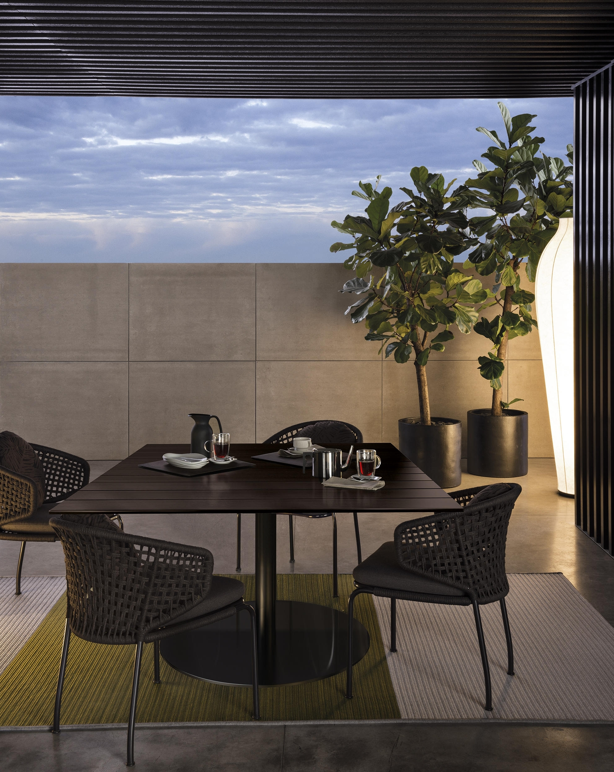 Bellagio Dining Tables For Popular Bellagio Dining Wood H72 – Dining Tables From Minotti (View 17 of 25)