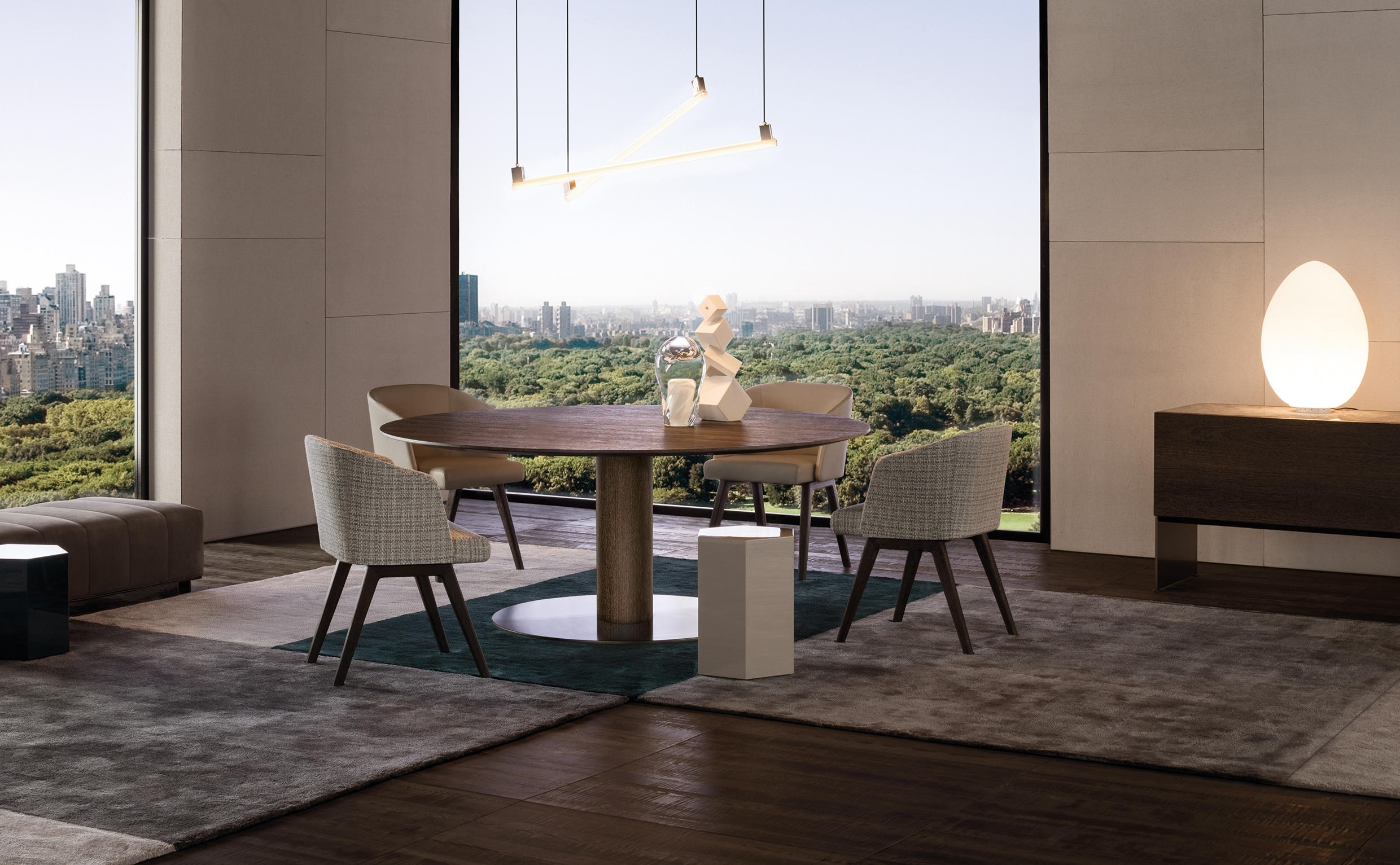 Bellagio Dining Tables With Widely Used Bellagio Dining Wood H72 – Dining Tables From Minotti (Gallery 11 of 25)