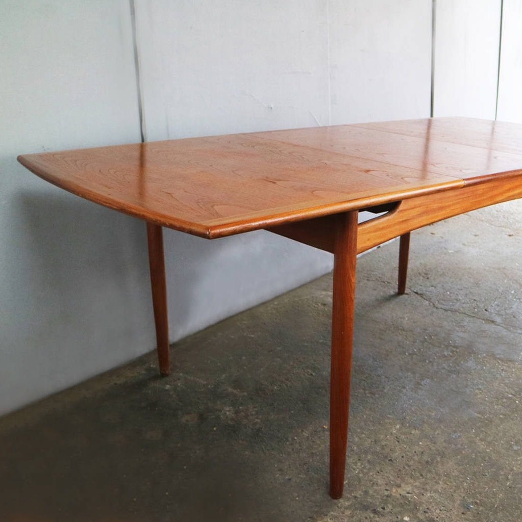 Best And Newest 1960'S Extendable Dining Tableg Plan Pertaining To Extendable Dining Sets (View 8 of 25)