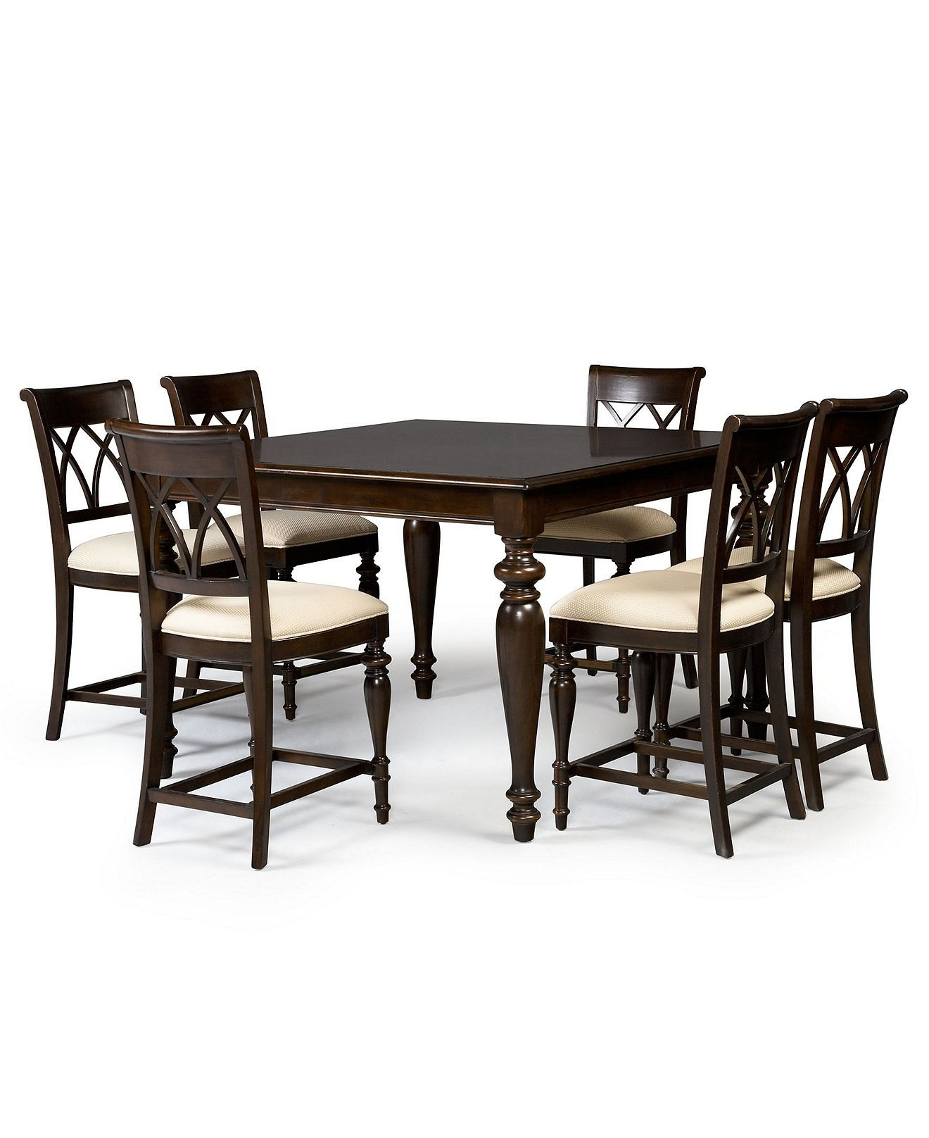 Best And Newest B$1700 Bradford Dining Room Furniture, 9 Piece Gathering Set (Table With Bradford Dining Tables (View 4 of 25)